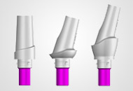 the CAMLOG® Esthomic® abutments are well suited for cement-retained crowns