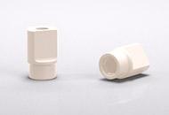 于杆卡基台的扫描杆用于通过可视方式在口腔中