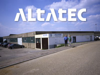 "<h2><div style=""text-align:center"">1994</h2><strong>DECEMBER<br> Establishment of ALTATEC</strong>"